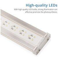 NICREW Deluxe LED Aquarium Light, Full Spectrum Fish Tank Light for Planted Tank