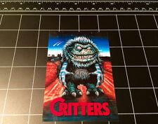 Critters 1986 movie logo vinyl decal sticker 80s horror halloween monster