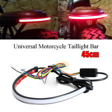 45CM 12V-24V Car Motorcycle Brake Rear Tail Light Dynamic Turn Signal Universal