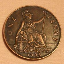 1933 Penny. Retro gap filler. THE RAREST DATE. Exact same size and weight.