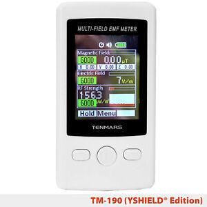 YSHIELD® Edition   Tenmars Messgerät TM-190   HF+NF