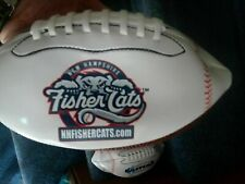 "SGA 9"" MINI FOOTBALL FISHER CATS MANCHESTER NEW HAMPSHIRE BASEBALL"