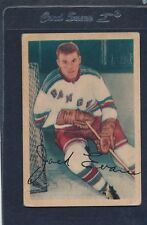 1953/54 Parkhurst #054 Jack Evans Rangers Fair 53PH54-121915-1
