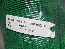 "Habasit Hag-12E Endless Belt 10"" x 45.5"" 2212315 345/E new"