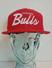 Mitchell & Ness NBA Snapback Chicago Bulls Hat - Red & White - VX29Z