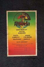 Bob Marley Tour Poster 1979 Harvard Palmieri - Patti Labelle