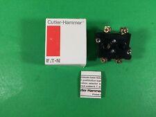 Cutler-Hammer Contact Block -- 10250T57 -- New