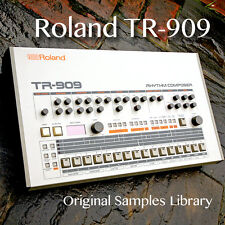 for ROLAND TR-909 Original 24bit Wave/Kontakt Studio Samples Library on DVD