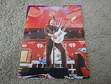 PATRICK STUMP SIGNED FALL OUT BOY PHOTO AUTOGRAPHED COA RARE!! OTH SINGER
