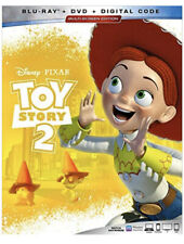 toy story 2 blu ray/dvd/code