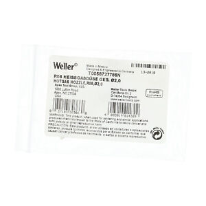 Weller T0058727786N New NFP Sealed