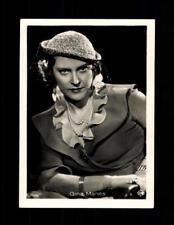 Gina Manes Haus Bergmann Film Photos Zigarettenbild  ## BC 129062