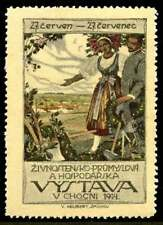 Bohemia Poster Stamp - 1914 Choceň Agricultural Exhibition
