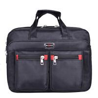 Men's Nylon Shoulder Messenger Bag Laptop Notebook Handbag Briefcase Crossbody