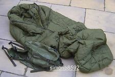 British Army PLCE Cold Weather Arctic Sleeping Bag Large,G2 No Compression Sack