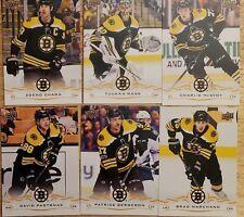 Boston Bruins SGA Team Pack Cards Sealed Pack