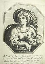 Sainte Jeanne femme de Chouza Michiel VAN LOCHOM à la Duchesse d'Aiguillon 1639