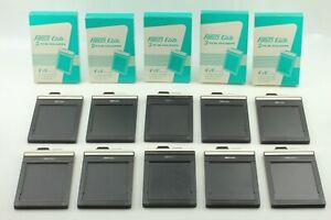 【 N MINT in BOX】 Fidelity Elite 2 Film Holders 4x5 x 5 Set (Total 10)  Japan 468