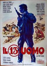 1 HOMME DE TROP Italian 2F movie poster 39x55 COSTA GAVRAS 1967 PICCOLI BRIALY