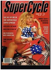 SUPERCYCLE FEBRUARY 1988 SEE CONTENTS CUSTOM STREET CHOPPERS  CLASSIC BIKES