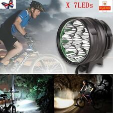 10000lm 7Cree X-ML T6 MTB Mountain Bike Bicycle Cycling Front Head Lights Lamp
