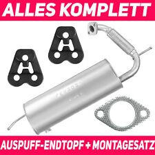 Endschalldämpfer Endtopf Auspuff  für SMART FOR TWO Coupe W451 07-14 0.8i Coupe