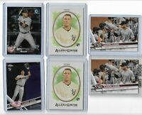2017 Aaron Judge Rookie lot Allen Ginter Bowman Update Topps Chrome  Lot of 6 RC