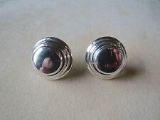 Vintage Modernist Sterling Bayanihan Earrings Modernist 8 Grams