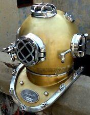 Copper Brass Vintage Diving Helmet Morse Vintage US Navy Divers Scuba Morse Gift