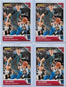 (4) CARD ROOKIE LOT 2018-19 PANINI INSTANT BASKETBALL LUKA DONCIC #41 RC 1/137
