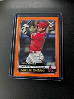 Shohei Ohtani 2020 Topps Big League Highlights Orange Parallel Angels #28