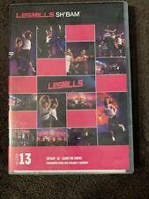 Les Mills SH'BAM workout Release 13 dvd & cd with notes SHBAM