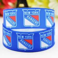 50yards 22mm New york rangers Sport team ball printed Grosgrain Ribbon party