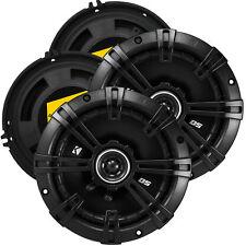 """Kicker 2-PAIRS 6.5"""" 2-Way DS Series 240W Peak /60W RMS Car Speakers /4 SPEAKERS"""