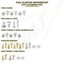 BOLT USA FULL PLASTICS FASTENER BOLT KIT KTM SX65 2016 - 2018