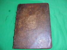 Livres anciens et de collection latins en cuir, sur histoire