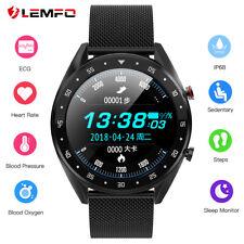 Lemfo L7 IP68 smartwatch ECG heart rate sleep blood pressure test Android iOS