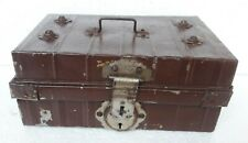 Jewelry Box Vintage Old Collectible Iron Hand Made Trinket Storage German Made