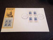 1978 National Stamp Week Miniature Sheet Unaddressed FDC Perth