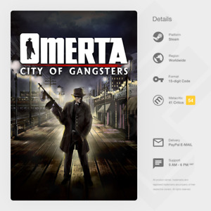 Omerta - City of Gangsters (PC) - Steam Key [GLOBAL, MULTI-LANG, INSTANT]