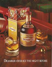 DRAMBUIE Liqueur - 1991 Print Ad