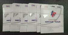 6 Sets Laserfibre Native Tour 17 Gauge 1.25mm Tennis String Made In The USA