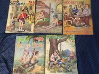 Vintage Lot Of 5 SUPER Sex to Sexty Cartoon Magazine Adult FREE S&H Rare Vintage