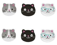 Purrfect Cat Edible Party Image Cupcake Topper Frosting Icing Sheet Circles