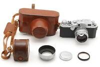 【 Exc̟+】 Canon 4sb IVsb Rangefinder w/ 50mm f/1.8 LTM L39 Lens from JAPAN