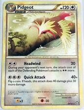 Pokemon Cards PIDGEOT 29/102 HGSS TRIUMPHANT REVERSE HOLO RARE (EX)