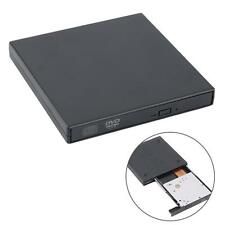 Black External USB 2.0 Region Free DVD Burner Slim CDRW ROM Combo Player DriveO6