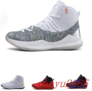 Mens Shoes Lace Up Basketball High Top Sport Jogging Fashion Sneakers Trainers D