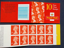 HD44 10 by FIRST CLASS  MACHIN DEFINITIVE BOOKLET WALSALL