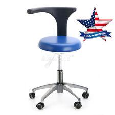 Us Dental Medical Doctor Assistant Stool Mobile Adjustable Fit Dental Exam Chair